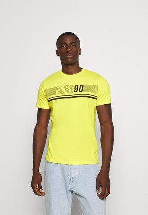 JCOICONIC TEE CREW NECK - Print T-shirt - sulphur