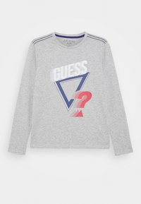 Guess - JUNIOR - Top s dlouhým rukávem - light heather grey - 0