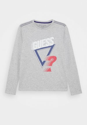 JUNIOR - Long sleeved top - light heather grey