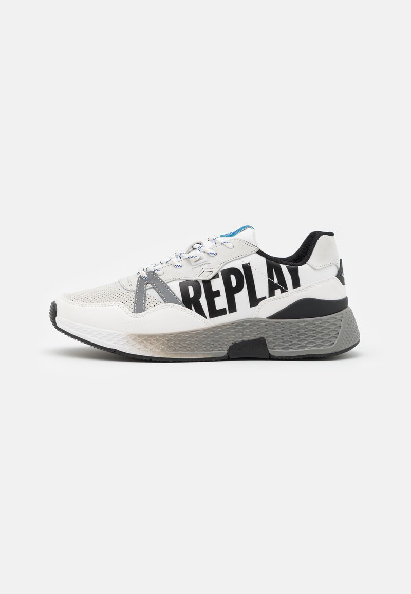 Replay - SPORT LOUD - Trainers - white/black/royal