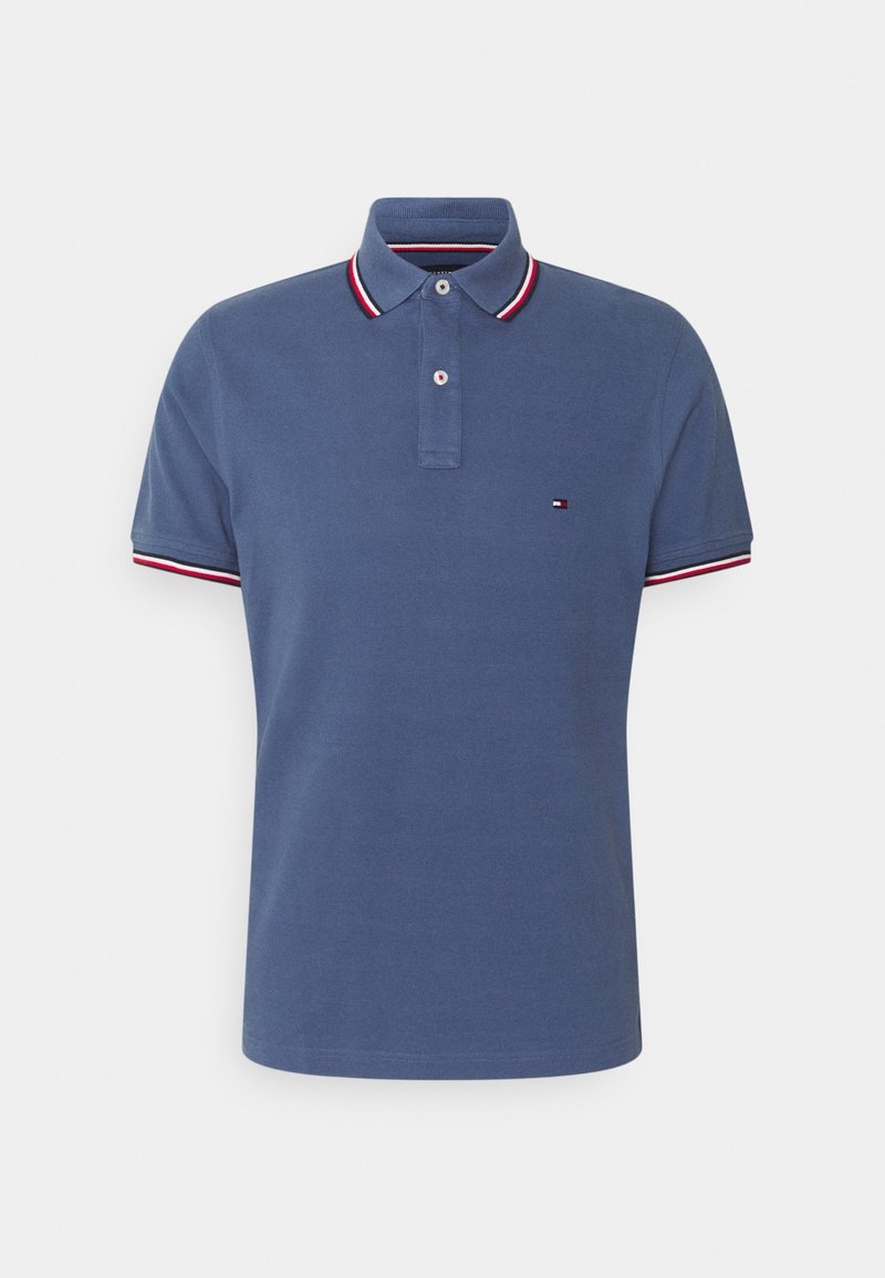 Tommy Hilfiger - TIPPED SLIM - Polo shirt - faded indigo