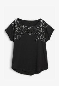 Next - Print T-shirt - grey - 4