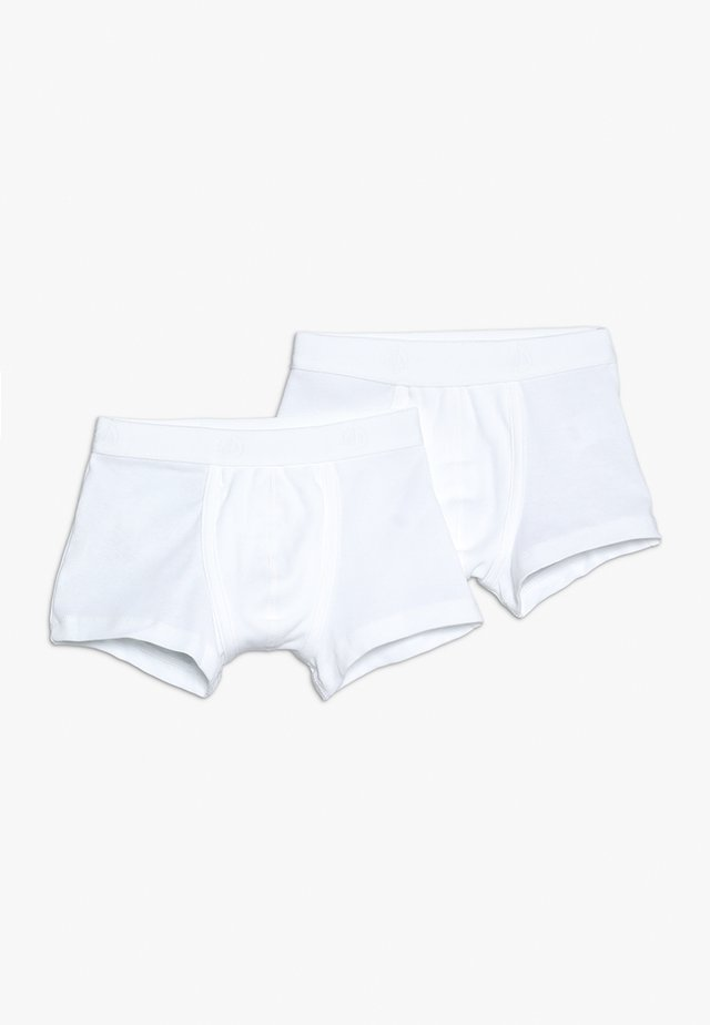 LOT BOXER 2 PACK - Culotte - white