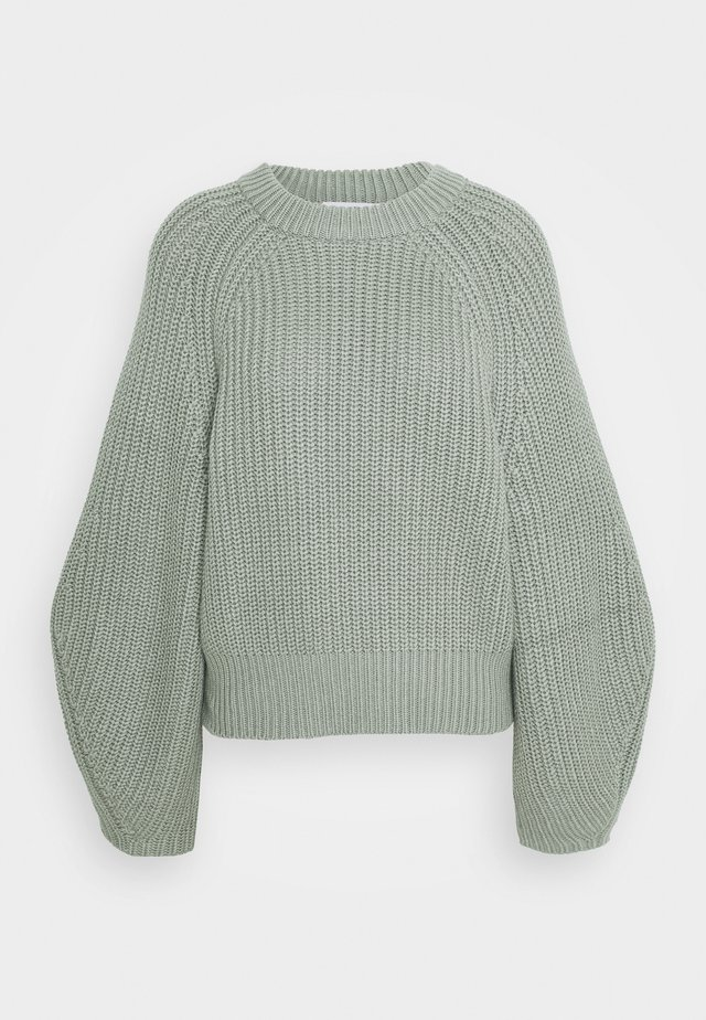 FIENE JUMPER - Strikpullover /Striktrøjer - light green
