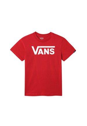 T-shirt print - chili pepper-white