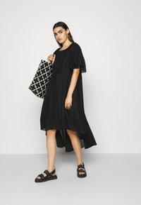 DESIGNERS REMIX - SONIA VOLUME DRESS - Occasion wear - black - 1