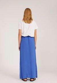 ARMEDANGELS - Print T-shirt - white - 2