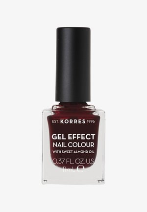 GEL-EFFEKT NAGELLACK - Nail polish - burgundy red 57