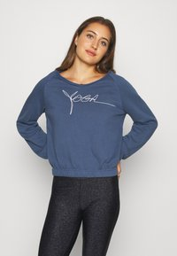 Yogasearcher - BIOSWEATY - Sweatshirt - midnight - 0