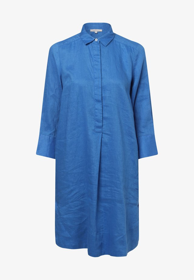Shirt dress - royal blue