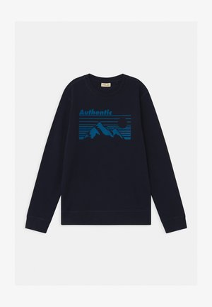 ROUND NECK - Sweatshirt - medieval blue
