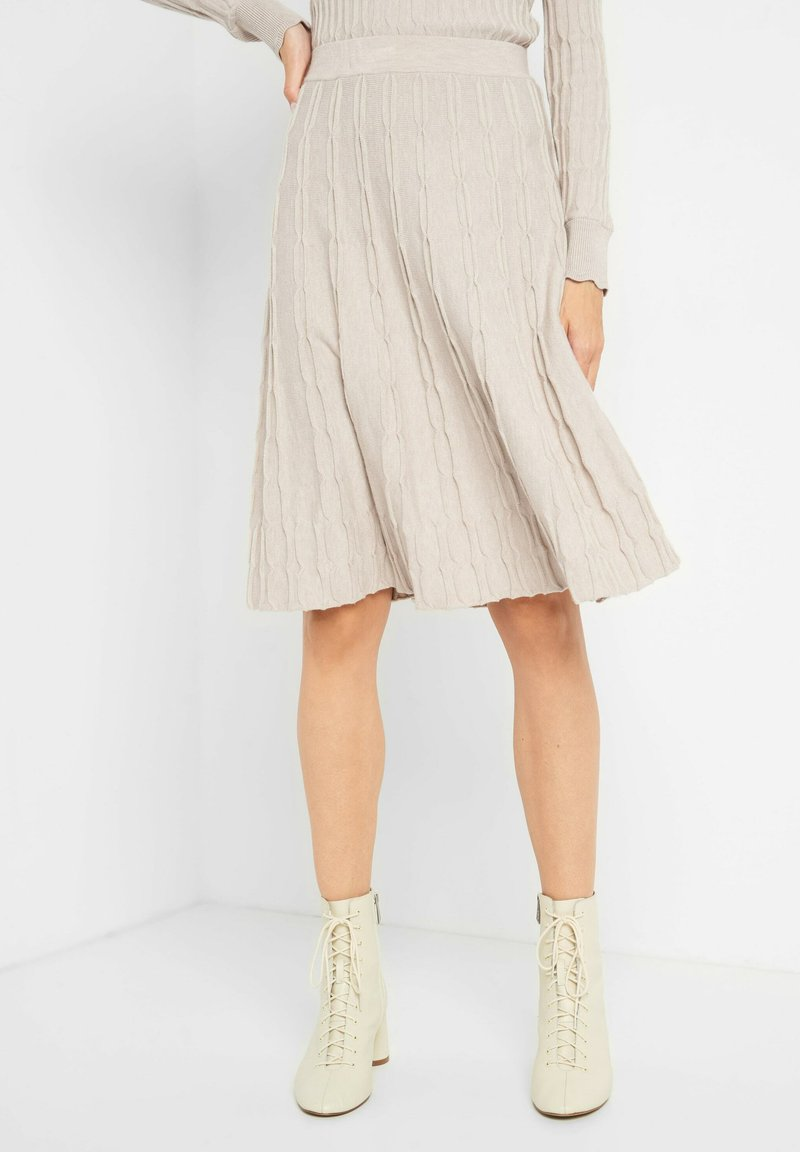 ORSAY - A-line skirt - sandstein