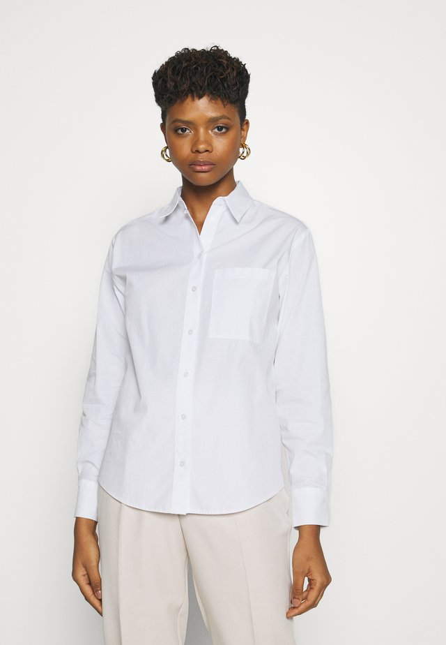 3PE POLLY POPLIN SHIRT - Koszula - white