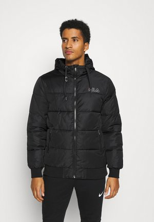 LASSE PUFFED JACKET - Winter jacket - black