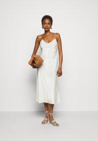 DESIGNERS REMIX - VALERIE SLIP - Day dress - cream - 1
