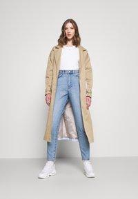 Dr.Denim - NORA - Straight leg jeans - blue jay worn hem - 1