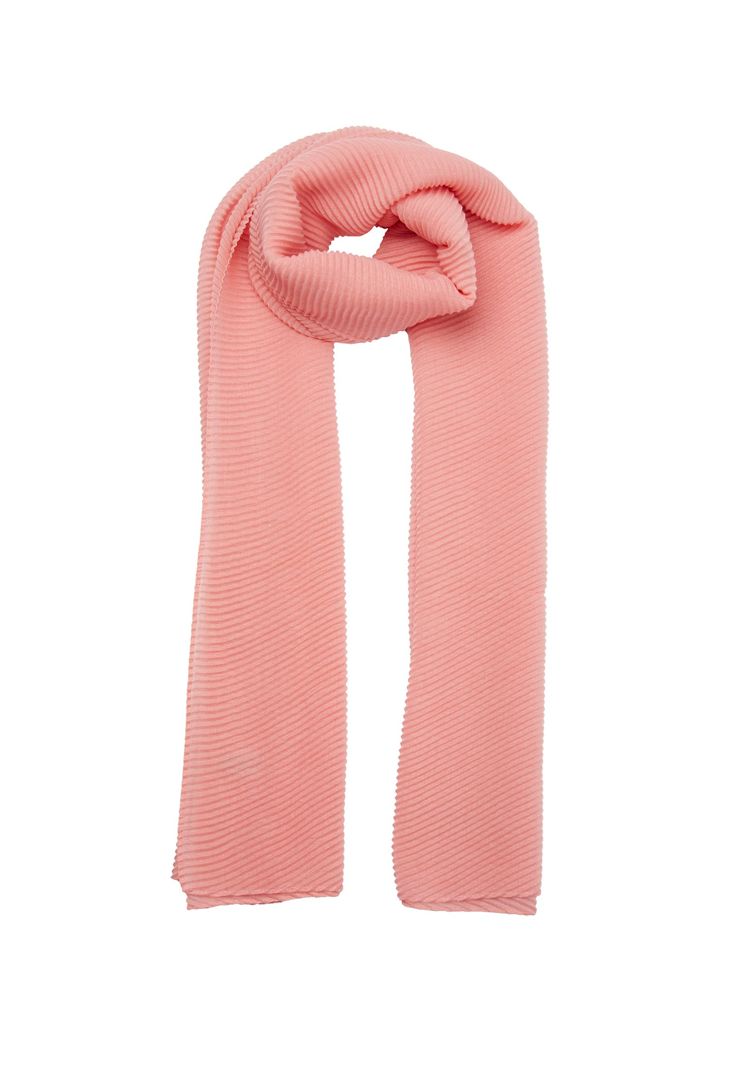 Oliver Bonas Pleated Coral - Schal Pink