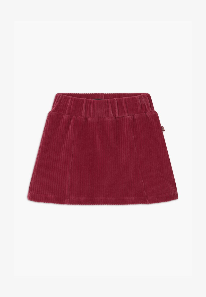 Lemon Beret - SMALL GIRLS - A-line skirt - rio red