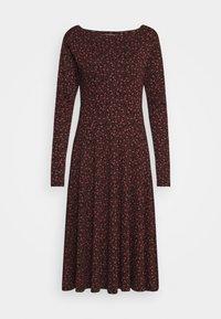 Danefæ København - SIGRID DRESS - Jersey dress - black - 1