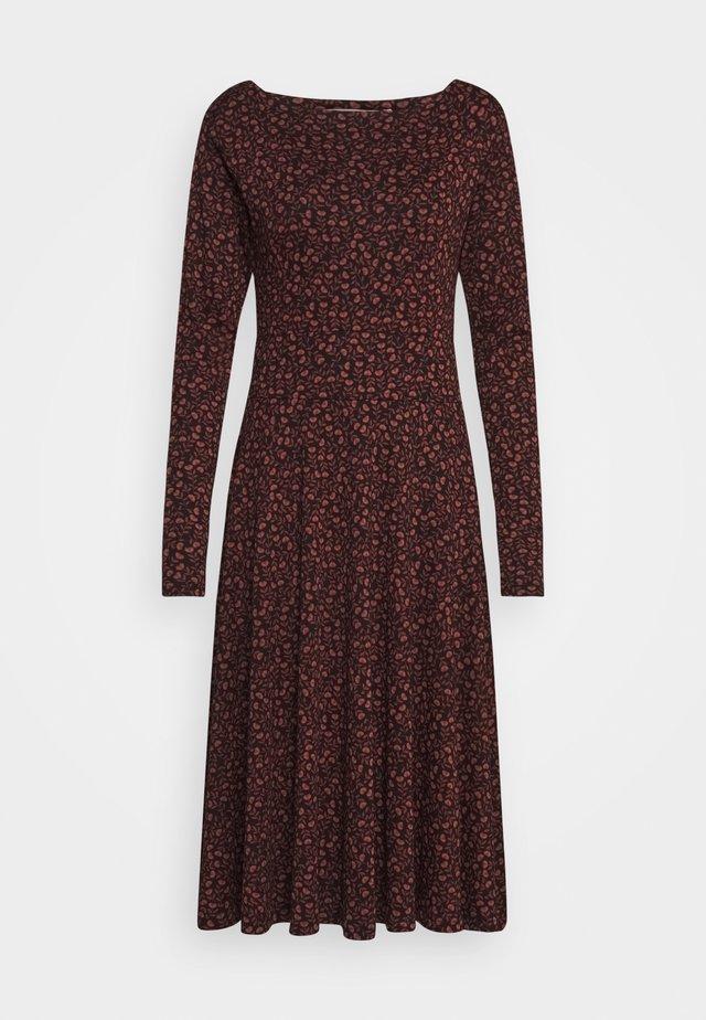 SIGRID DRESS - Jerseykjoler - black