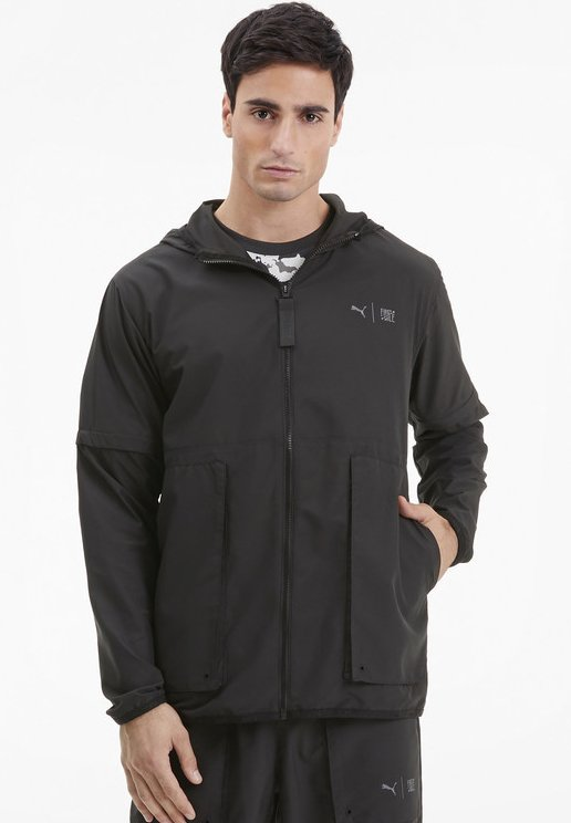Puma - FIRST MILE - Sports jacket - black