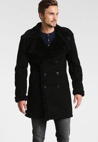 INDICODE JEANS - JOVANI - Short coat - black - 0