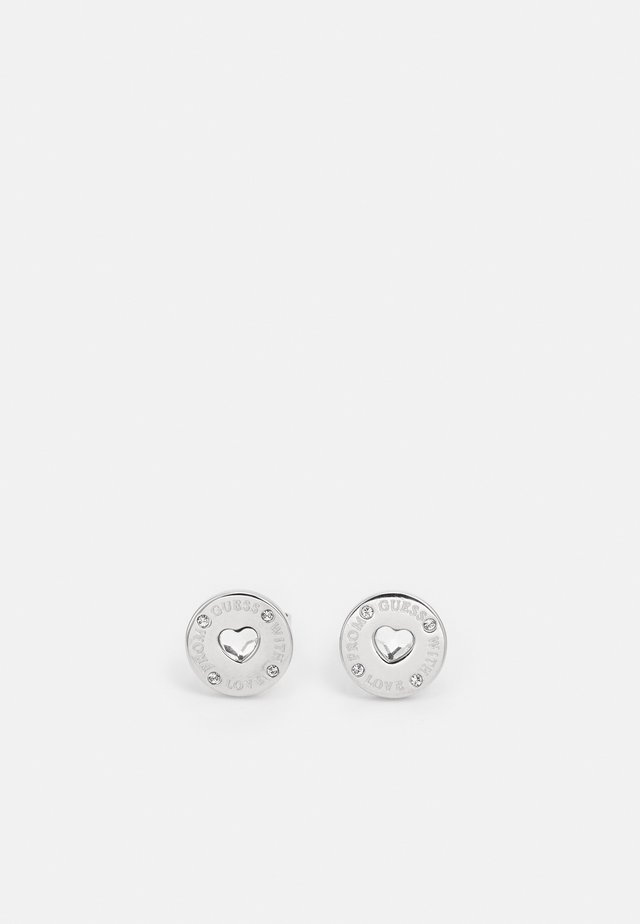 FROM GUESS WITH LOVE - Earrings - silver-coloured