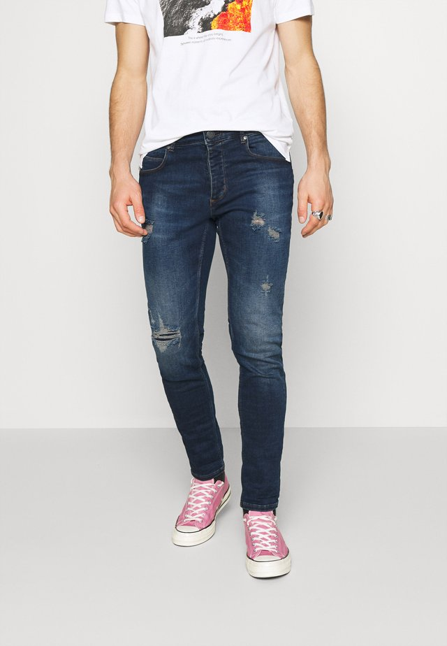 REY - Jeans slim fit - mid blue