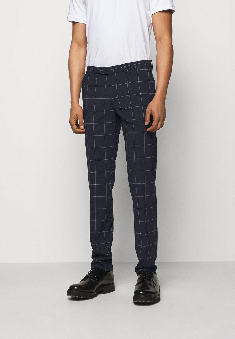 DRYKORN - PIET - Suit trousers - dark blue