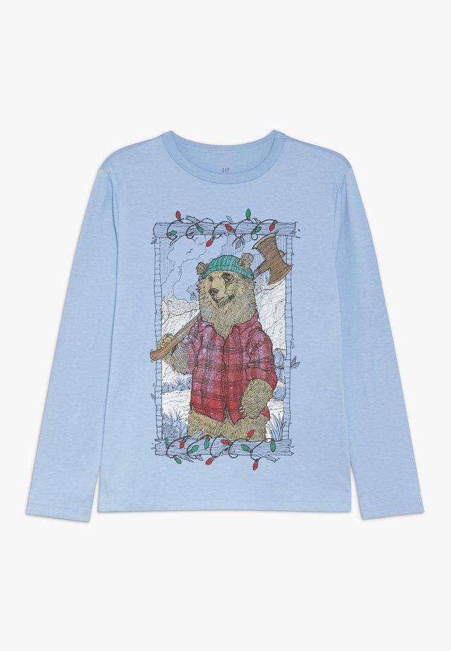 BOY - Top sdlouhým rukávem - buxton blue