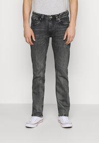 Pepe Jeans - KINGSTON ZIP - Jeans straight leg - black denim - 0