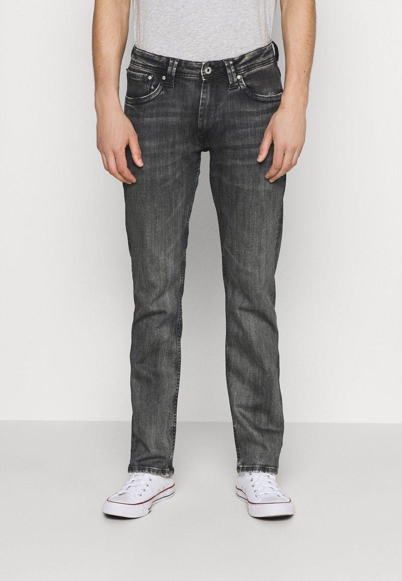 Pepe Jeans - KINGSTON ZIP - Jeans straight leg - black denim