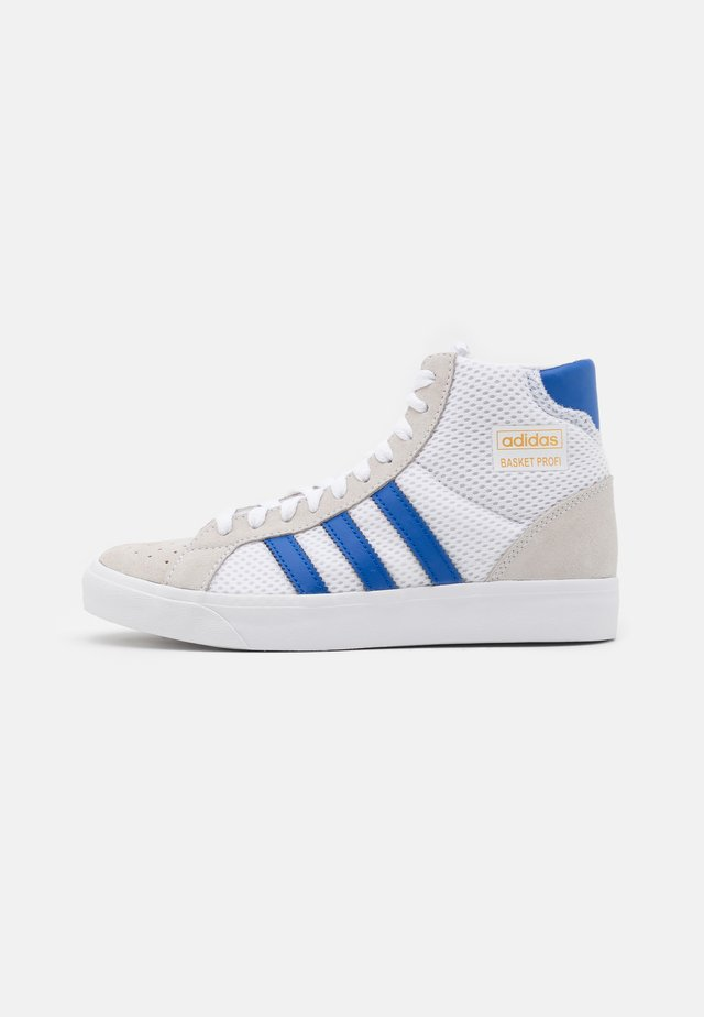 BASKET PROFI UNISEX - Matalavartiset tennarit - footwear white/royal blue/gold metallic