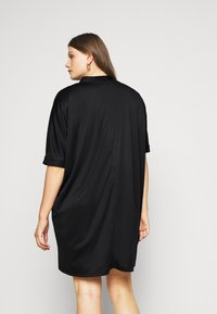 Zign Curvy - Jersey dress - black - 2