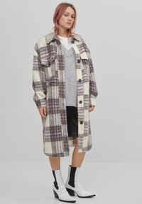 Bershka - Classic coat - mauve - 1