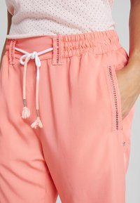 Luhta - HANDBY - Trousers - pink - 4