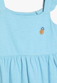 Lemon Beret - SMALL GIRLS DRESS - Žerzejové šaty - turquoise - 4