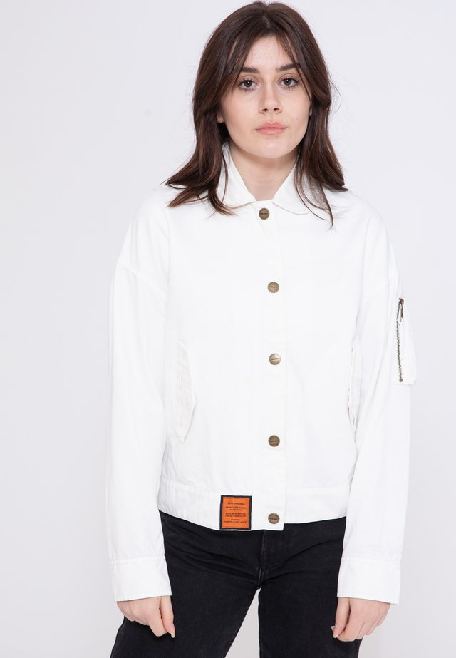 SUNDECK - Summer jacket - white