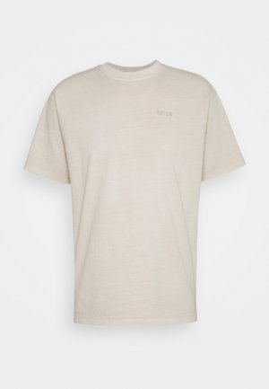 VINTAGE TEE - T-shirt basique - pumice stone