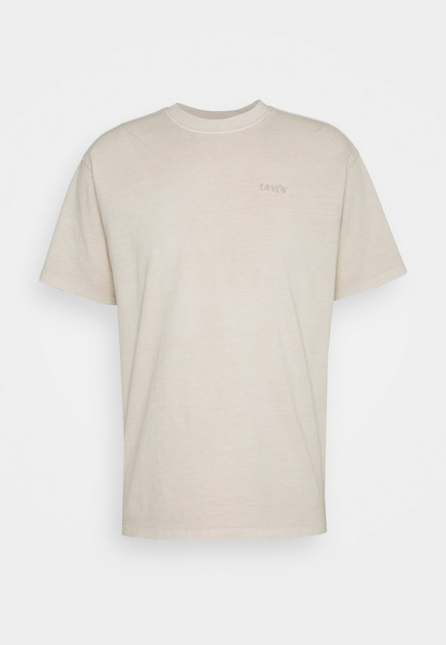 VINTAGE TEE - T-shirts - pumice stone