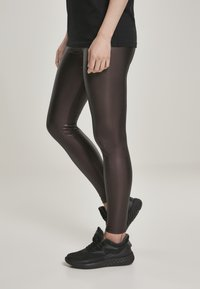 Urban Classics - Leggings - Trousers - redwine - 3