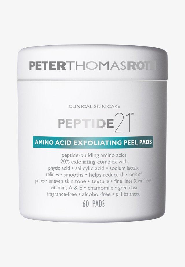 PEPTIDE 21 AMINO ACID EXFOLIATING PEEL PADS - Nettoyant visage - -