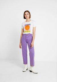 Neuw - EDIE - Jeans straight leg - purple - 1