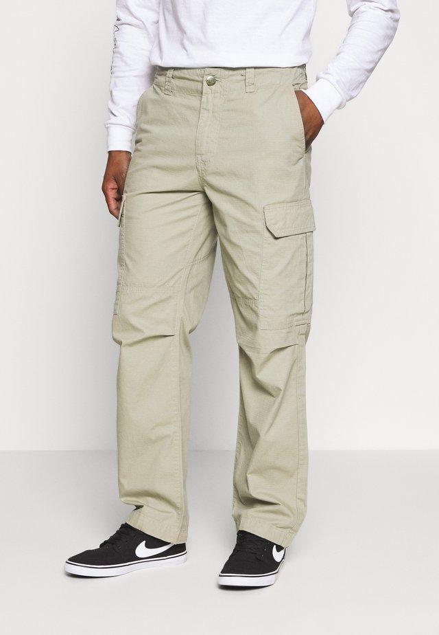 NEW YORK - Cargo trousers - khaki
