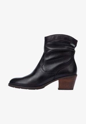 CUENCA - Cowboy/biker ankle boot - black