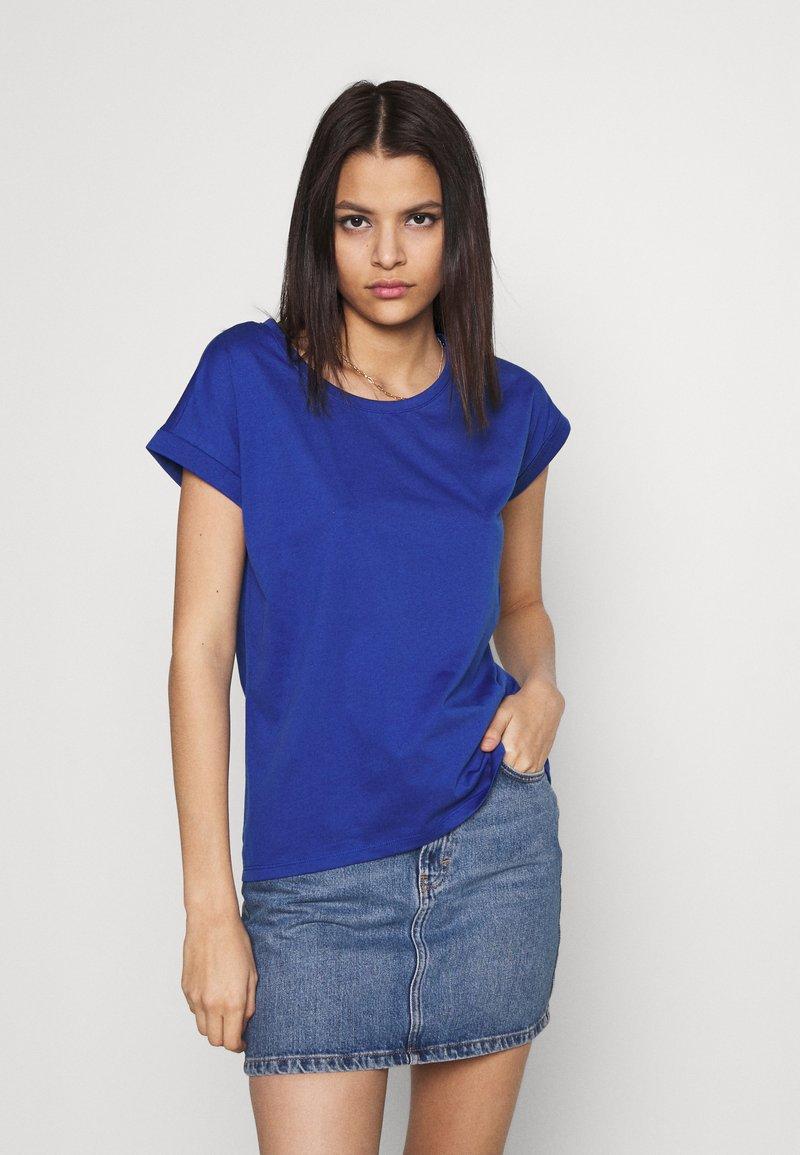 Vila - VIDREAMERS PURE - Basic T-shirt - mazarine blue