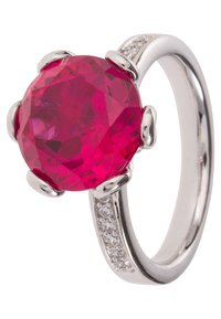 Caï - Ring - dark ruby - 0