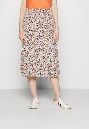 PLISSE MIDI - A-line skirt - pink