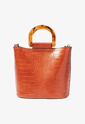 Handbag - kupfer