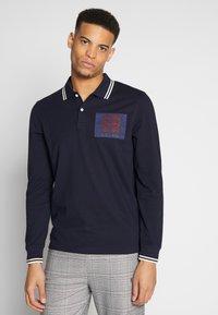 Kent & Curwen - BAILEY LIONS - Polo shirt - deep blue - 0